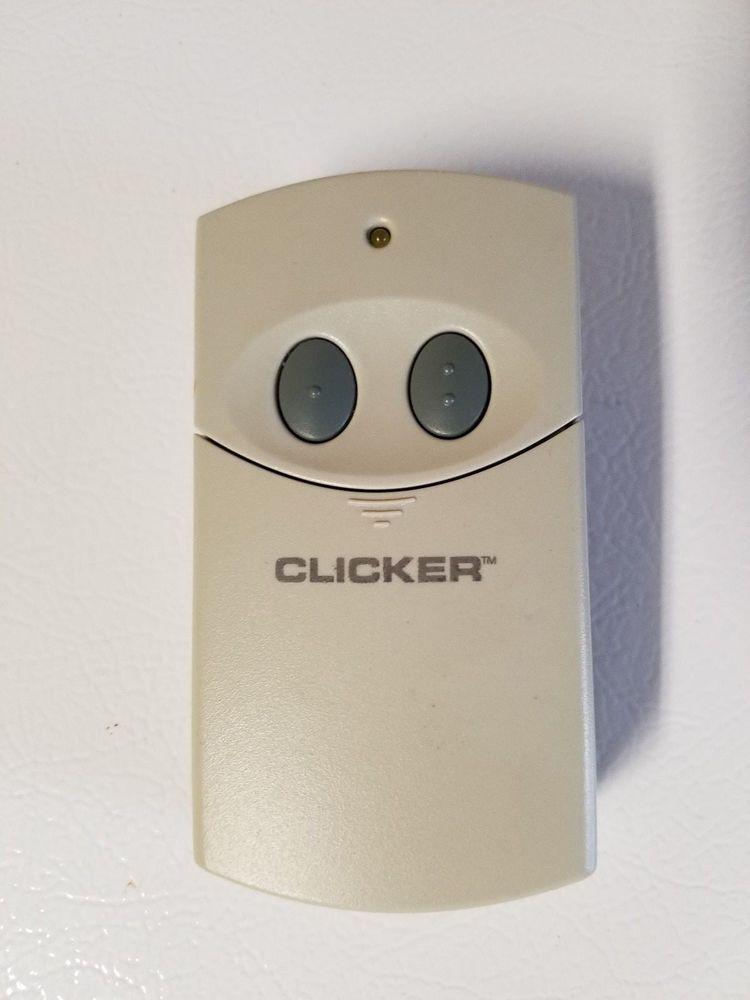 Clicker clt1 rev b universal 2button garage door opener