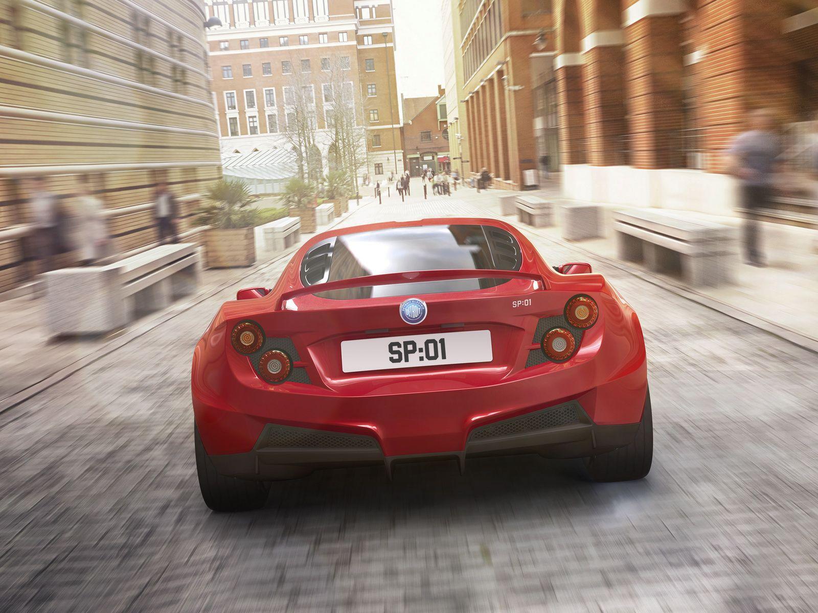 Detroit Electric Reveals Sp 01 S New Fastback Coupe Design