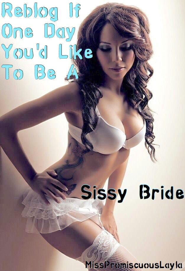 "jaynelovesdick: ""monica-loves-dick: "" sissyvirgingay: ""I want to be a sissy  bride now!  </a> </div> <div class="