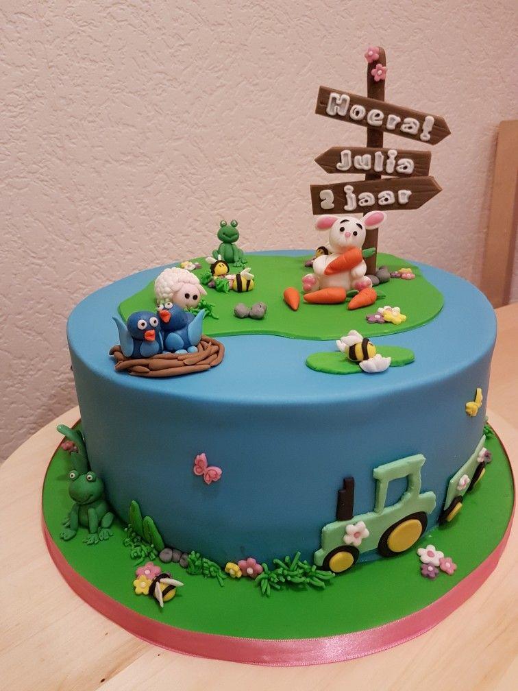 Verjaardagstaart 2 Jaar