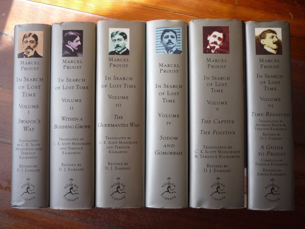 Marcel Proust In Search Of Lost Time 6 Volumes 4300