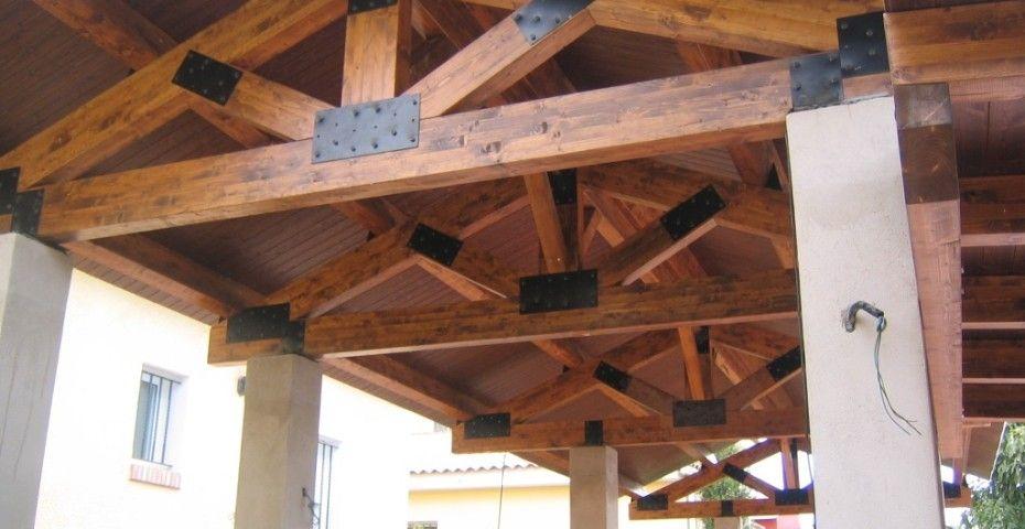 Pérgolas A 2 Aguas Incofusta Fabrica De Madera En Valencia