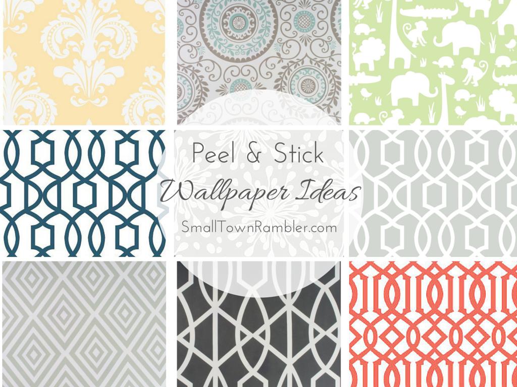 Stuck on You Peel and Stick Wallpaper Ideas Peel, stick