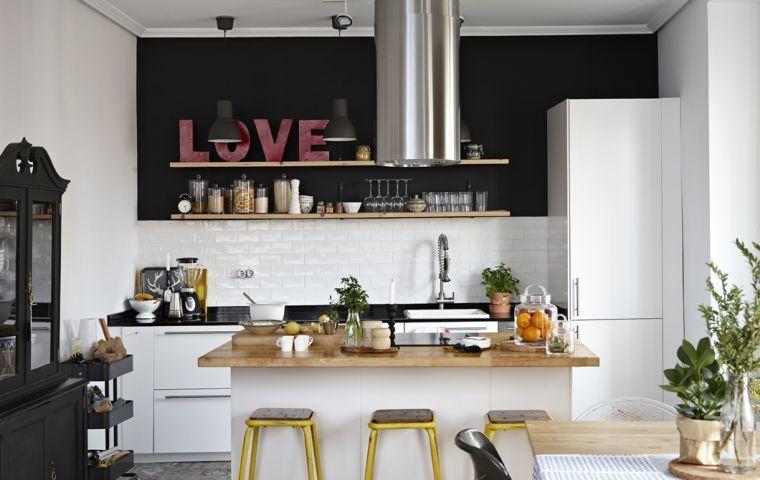 Photo cuisine Ikea  45 idées de conception inspirantes à voir - plan ilot central cuisine