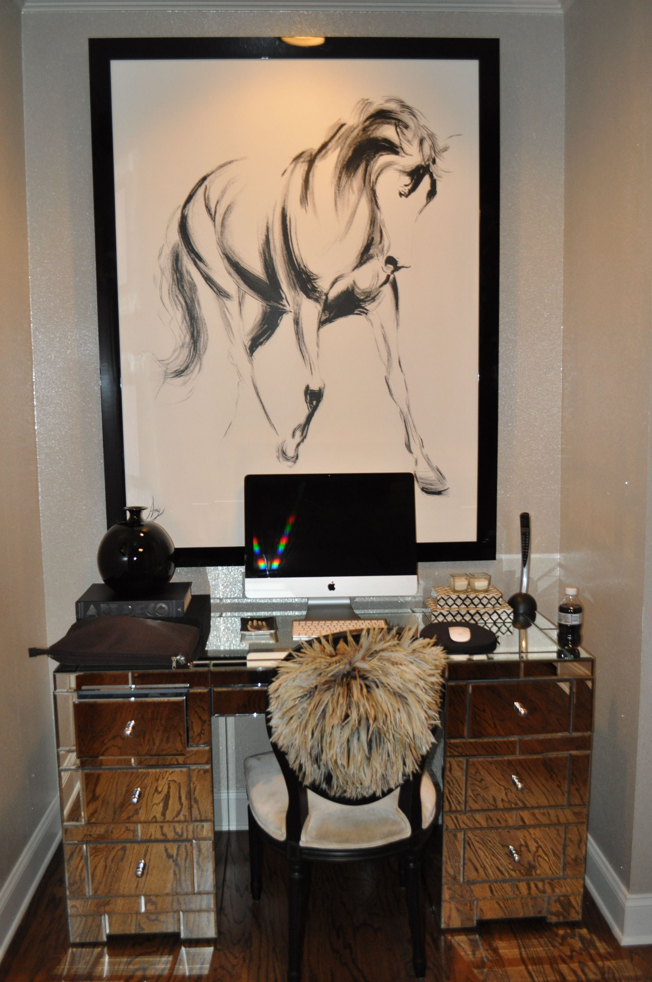 Hampton fashion styles pics the kitchen living room photo are courtesy of allen cooley Horse design kitchen accessories