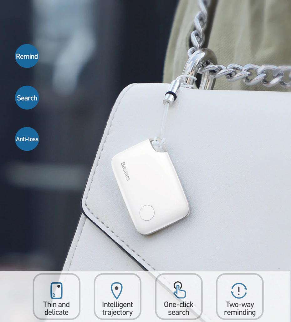Baseus Wireless Smart Tracker Anti Lost Alarm Tracker Key Finder Child Bag Wallet Finder Gps Locator Anti Lost Alarm Tag 2 Typ In 2020 Lost Keys Child Tracker Wireless