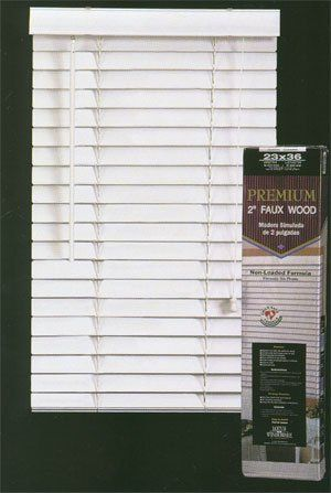 2 Faux Wood Blinds 22 12 X 72 Ships Next Day To View Further For This Item Visit The Image Link Faux Wood Blinds Wood Blinds Faux Wood
