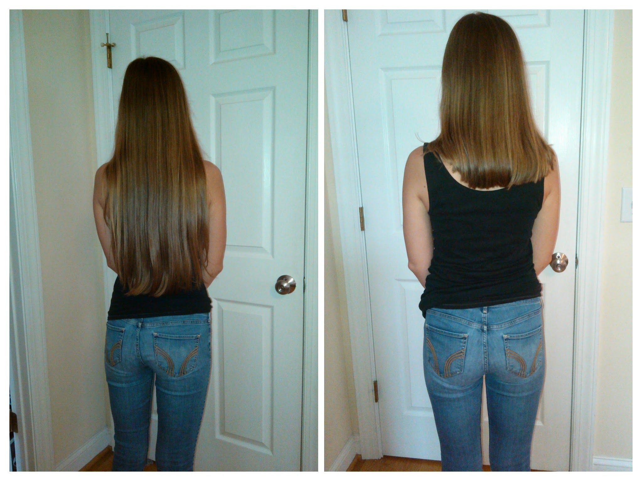 Before And After Donating Hair To Pantene Beautiful Lengths