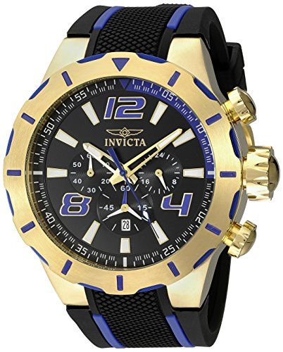 a2a239e8e23 Invicta Men s 20108 S1 Rally Stainless Steel Watch with Black Band -- Visit  the image link more details.