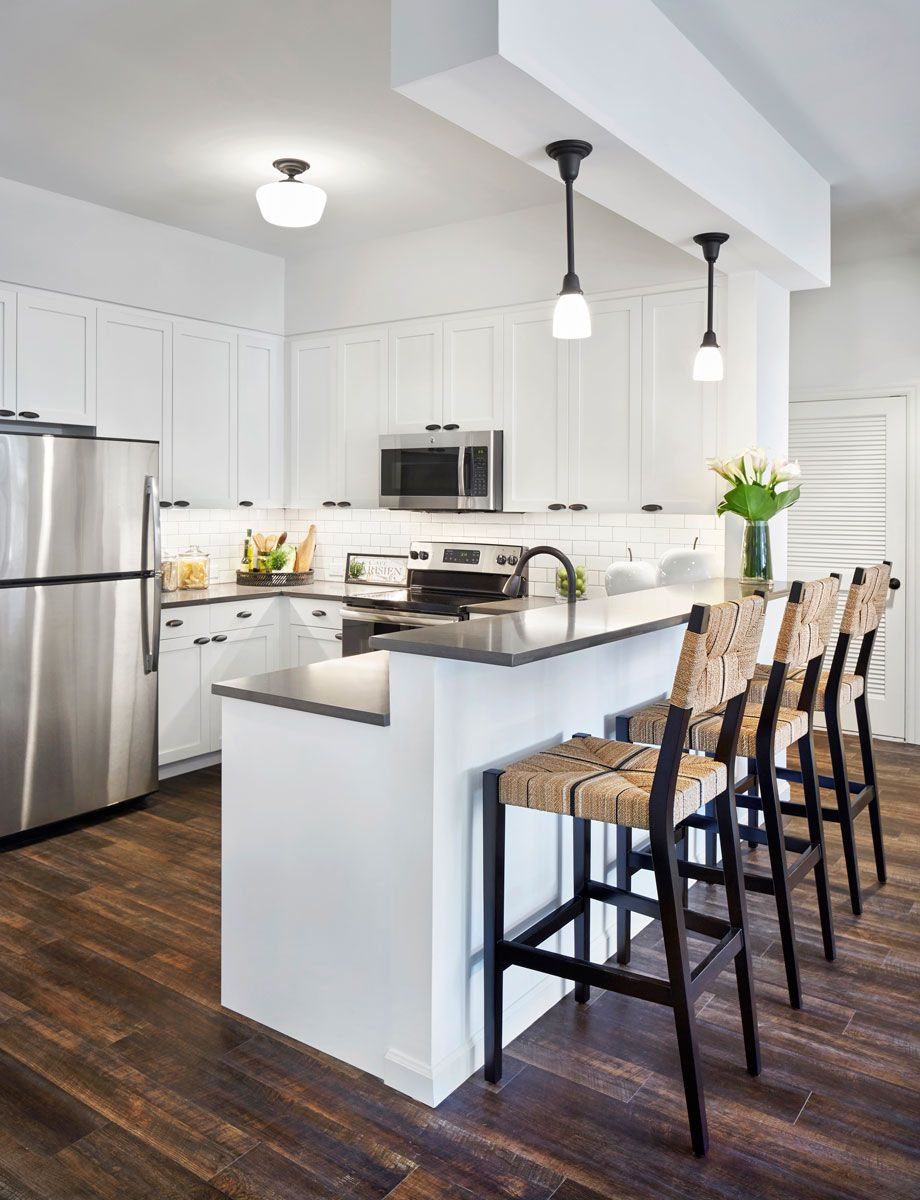 Best Bright Modern Apartments In 2019 Kitchen Island With 400 x 300