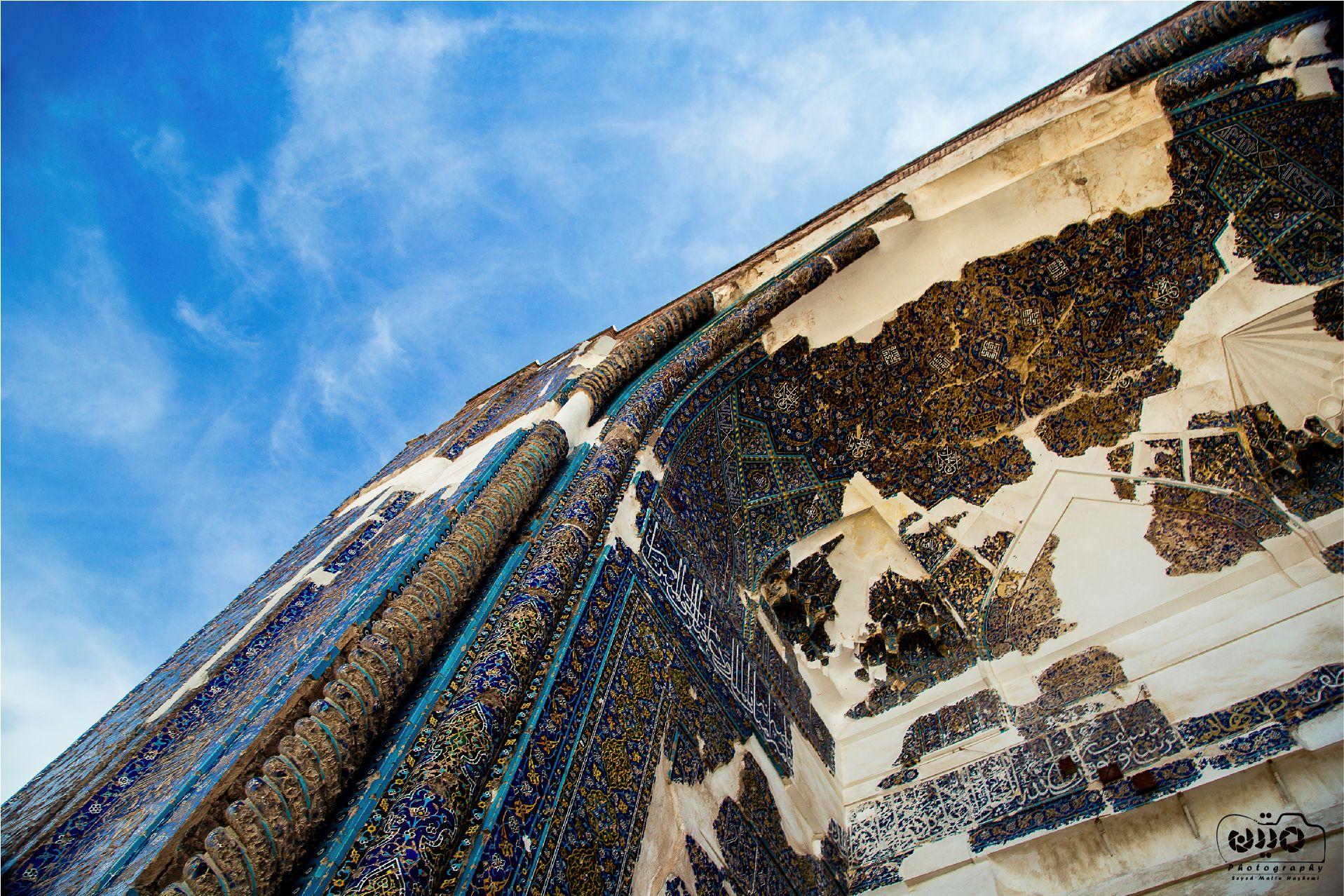 Blue Mosque of Tabriz Iran مسجد کبود تبریز Matin Hashemi Blue Mosque