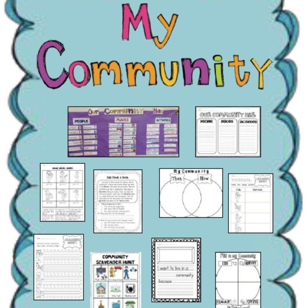 Resources for the grade 1 social studies curriculum in