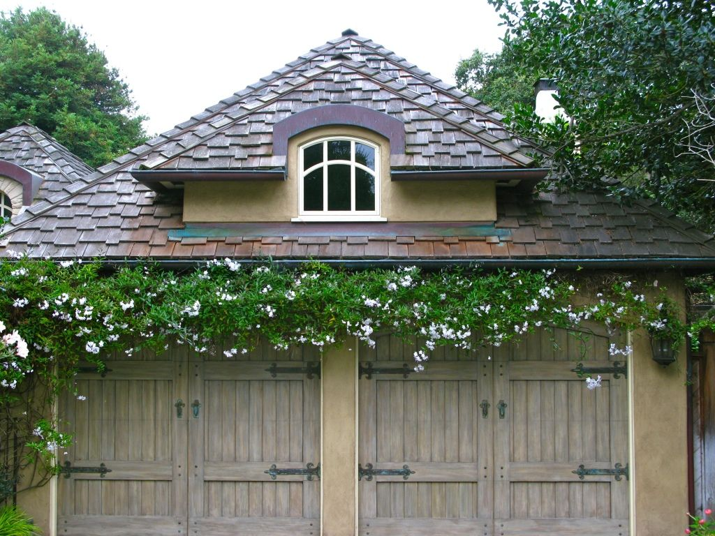 Pin By Puella Eternal On Carriage Doors Garage Trellis Cottage Exterior House Exterior
