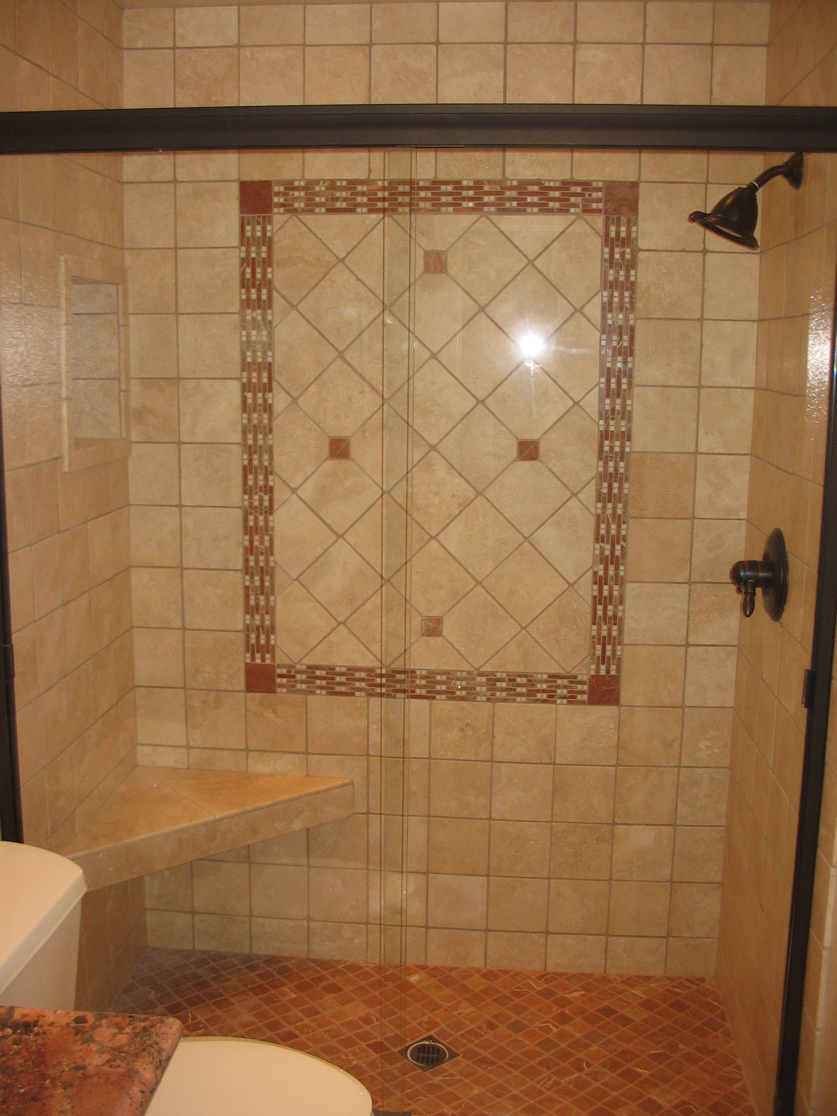 Image Detail For  Stall Shower With Deco Design Custom