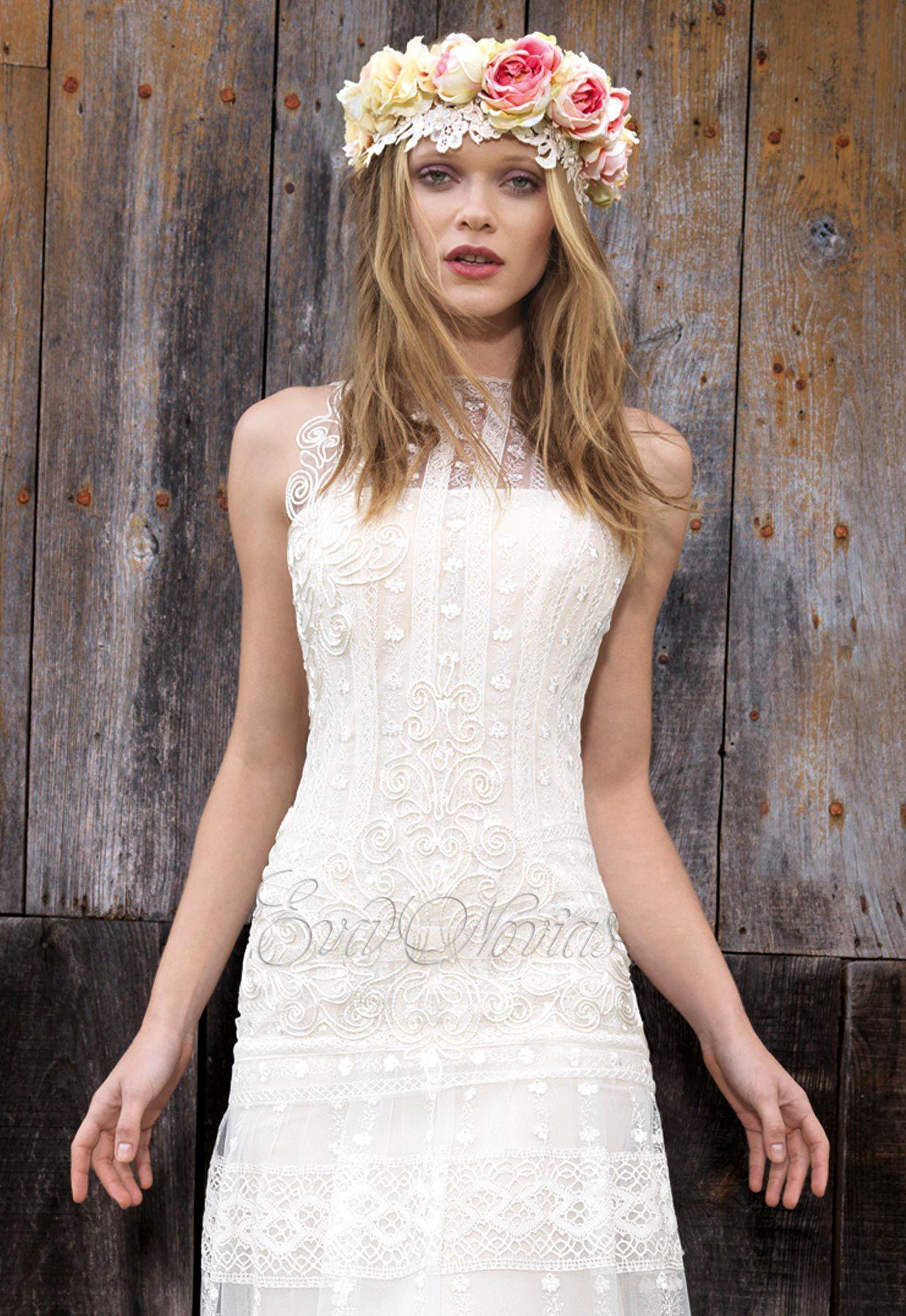 vestido de novia Yolancris modelo Anet