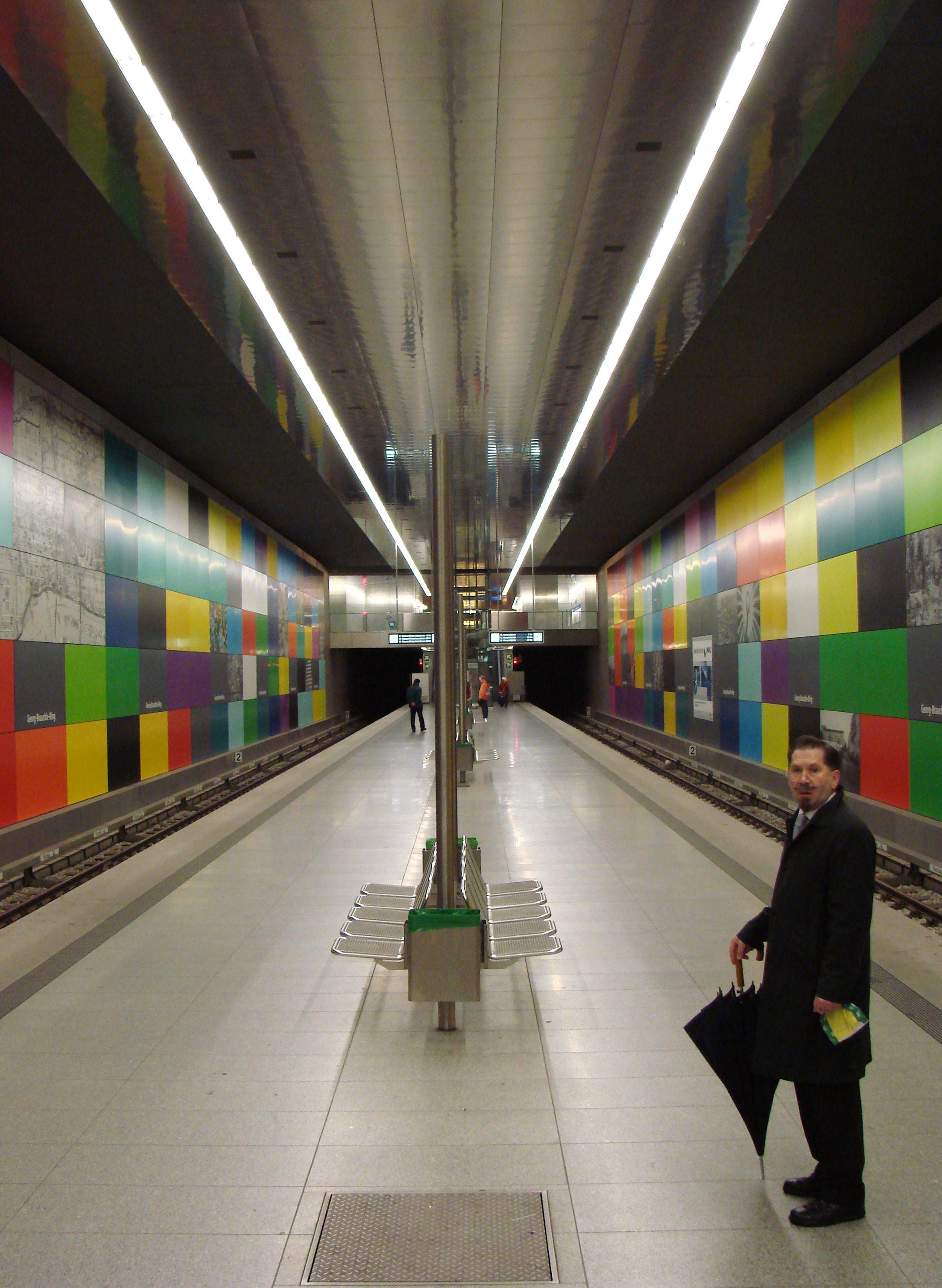 Pin By Panayiota Th On Subway Stations Interior Design Lighting Metro Station Subway Station