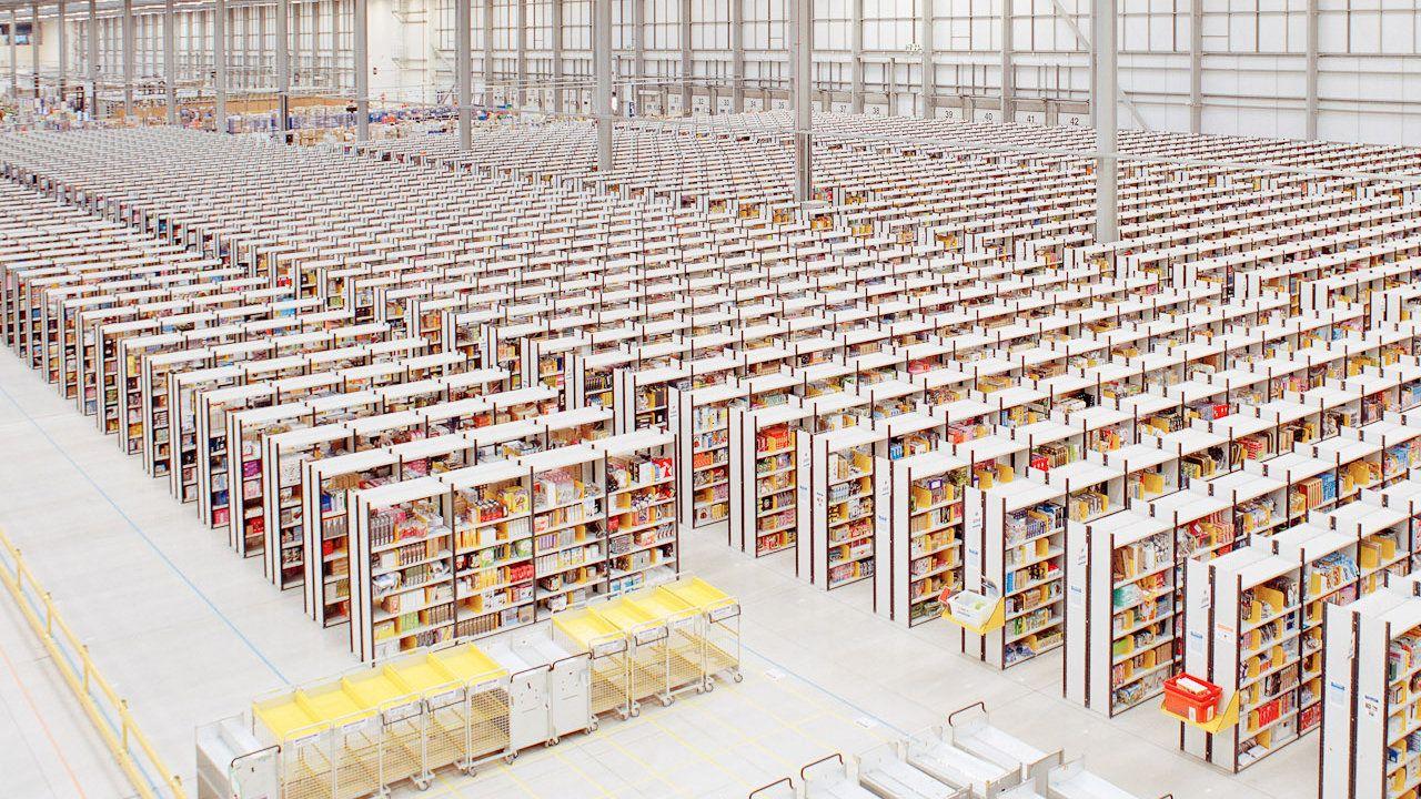 Amazon Warehouse Delivery Process Warehouse Fulfillment Center