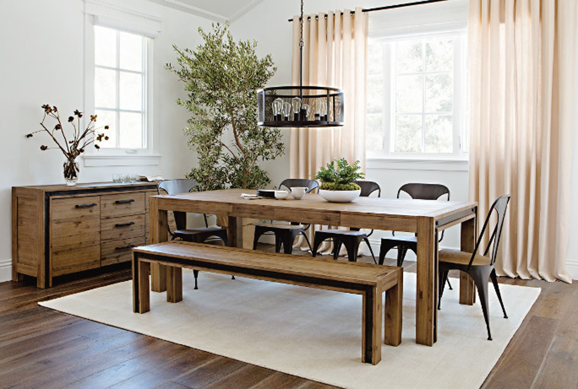 Amos Extension Dining Table | Living spaces, Dining and Spaces