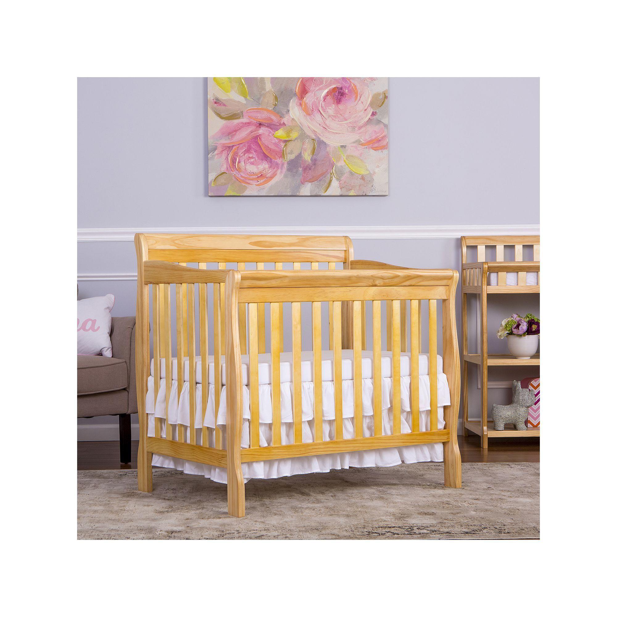Dream On Me Aden Convertible Mini Crib Cribs Mini Crib Convertible Crib