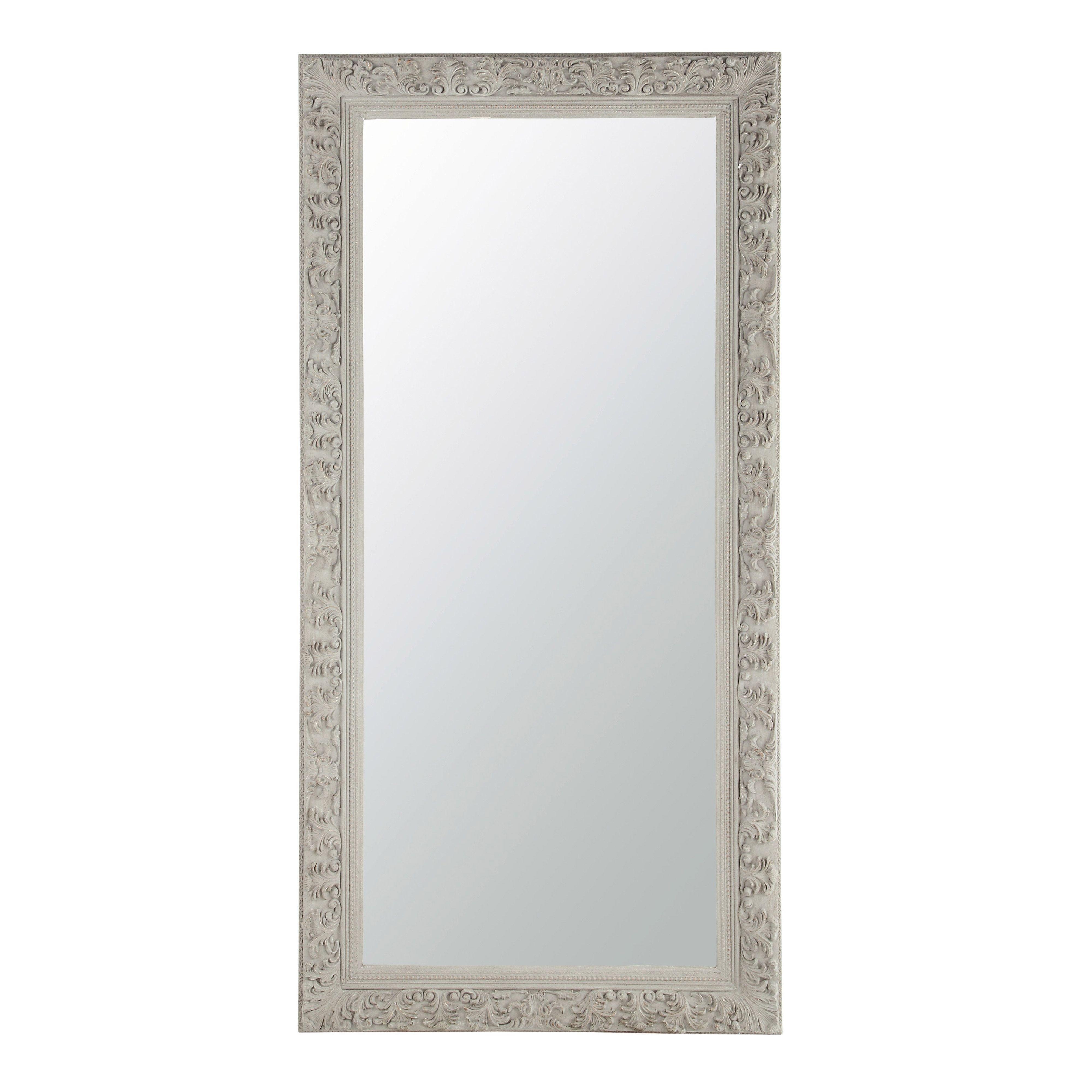 miroir en bois beige gris h 180 cm ali nor id es d co. Black Bedroom Furniture Sets. Home Design Ideas