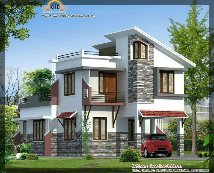 Pin By Hamed Alshabibi On Sweet Home Cool House Designs Small House Elevation Design House Front Design