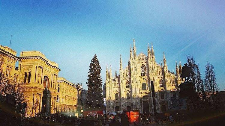 Bella Milano  #milano #natale #duomo #milanodavedere by gincucumber