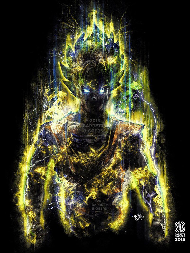 Artstation - Dragon Ball Goku Inspired Character Concept