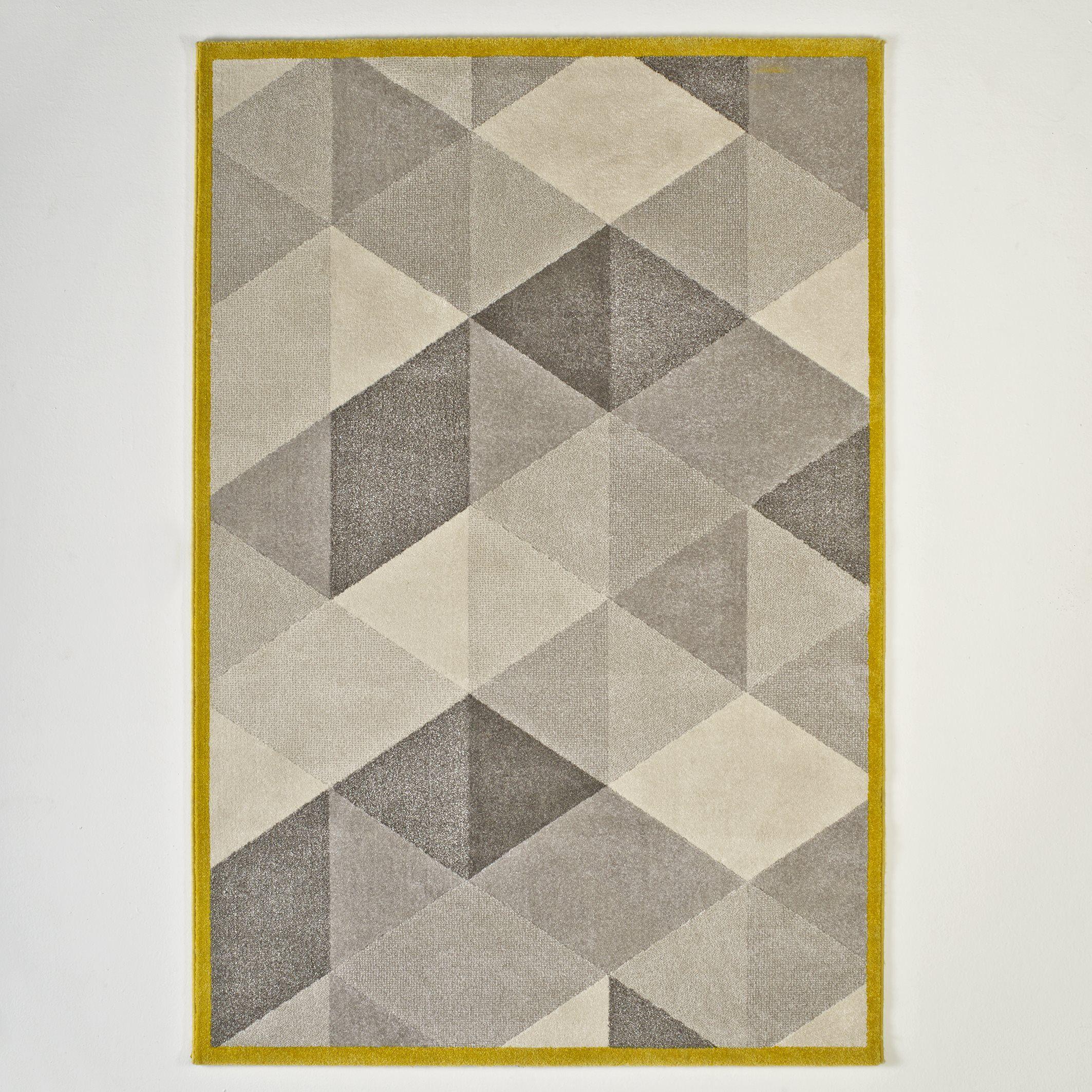 Le tapis Agasta à poil court. Très doux et confortable, il apporte une  touche graphique à votre intérieur. Caractéristiques du tapis Agasta  100%  ... ab5fb1ec653