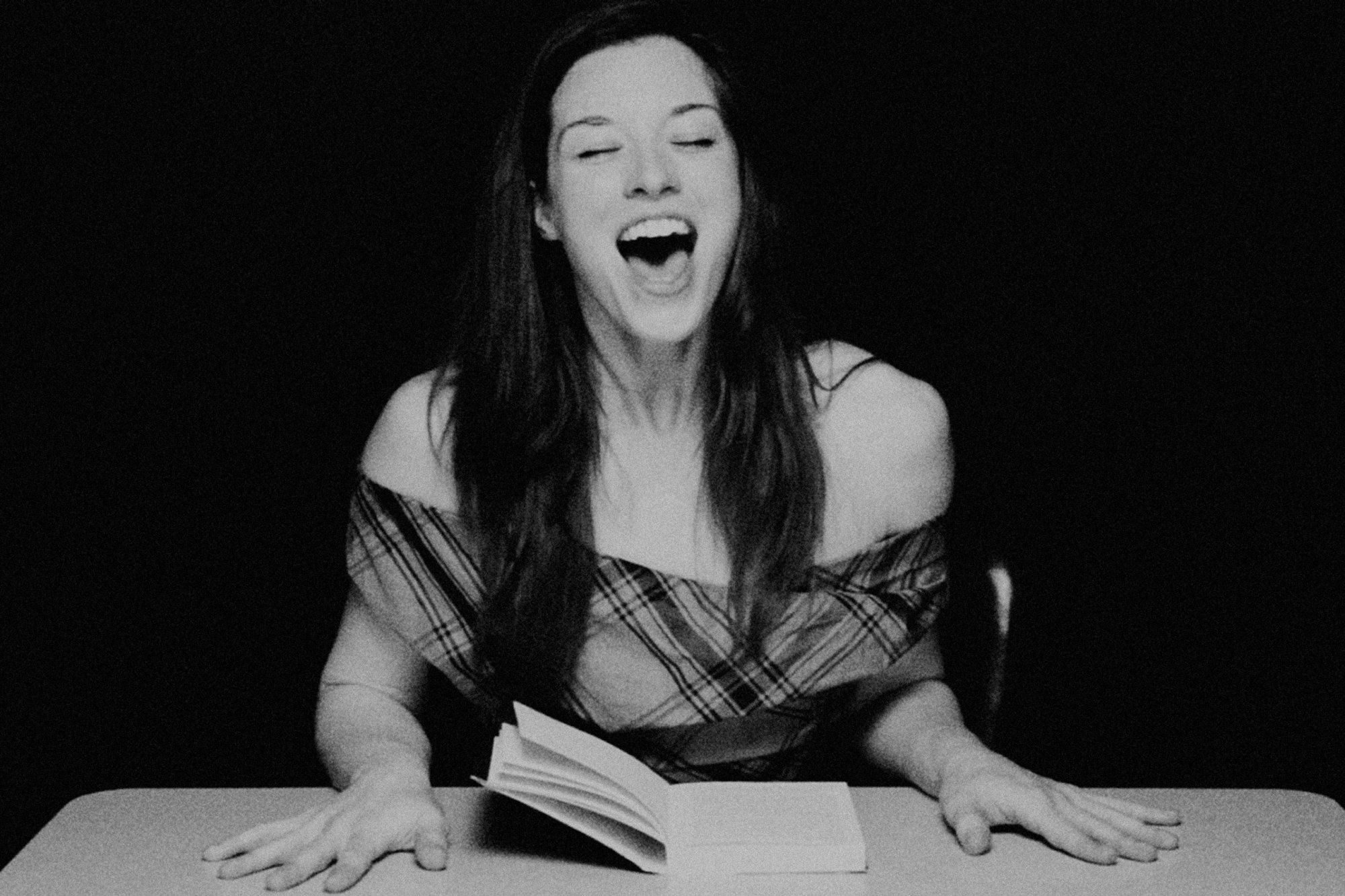 women read until orgasm in clayton cubitt's 'hysterical literature