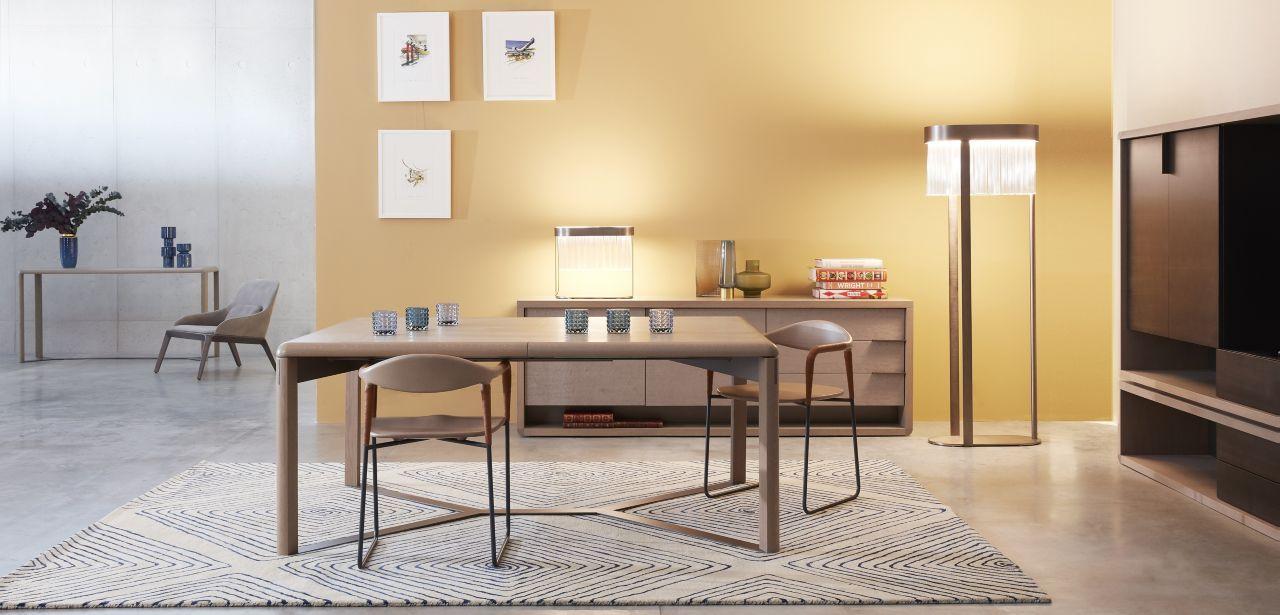 Rive Droite Dining Table Roche Bobois Mobilier Design Meuble Design Mobilier De Luxe