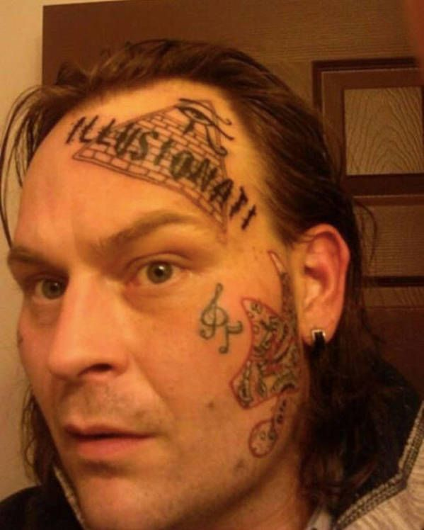 19 Face Tattoos That People Are Definitely Going To Regret Later In Life - Likes