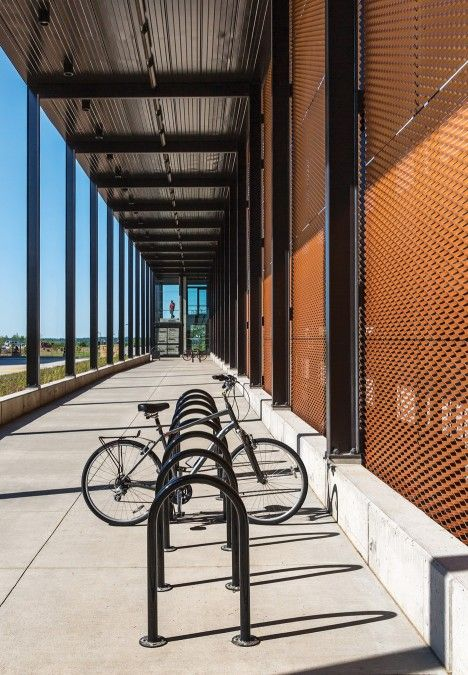 Campus Parking Facility By Substance Architecture In West Des Moines