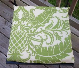 No Sew Seat Cushions Diy Outdoor Seating Outdoor Seat Cushions