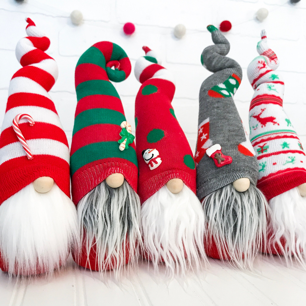 Christmas Gnome Pattern DIY Sock Gnome Pattern DIY