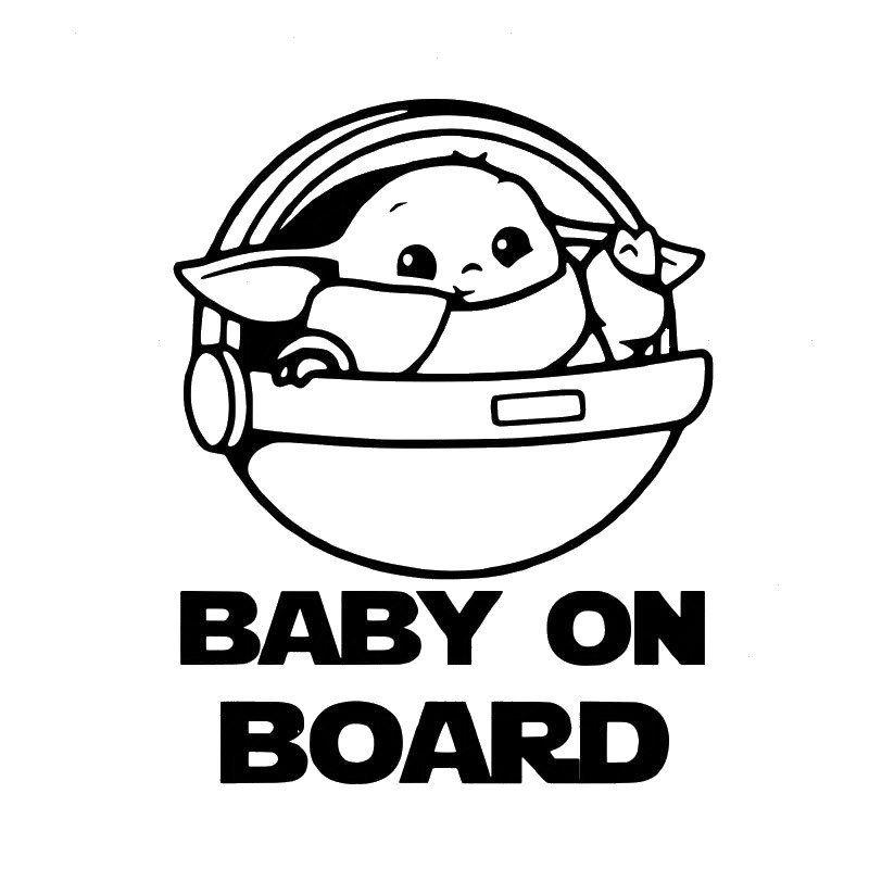 Guardians Of The Galaxy Custom Vinyl Sticker Decal Window Decal Laptop Decal Tumbler Decal Star Wars Baby Custom Vinyl Stickers Yoda Png