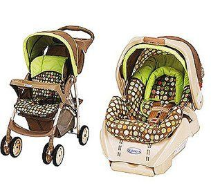 Graco - LiteRider Travel System & SnugRide Car Seat in Lively Dots by Graco, http://www.amazon.com/dp/B0084VD4HI/ref=cm_sw_r_pi_dp_AJSUqb1XNF7T1