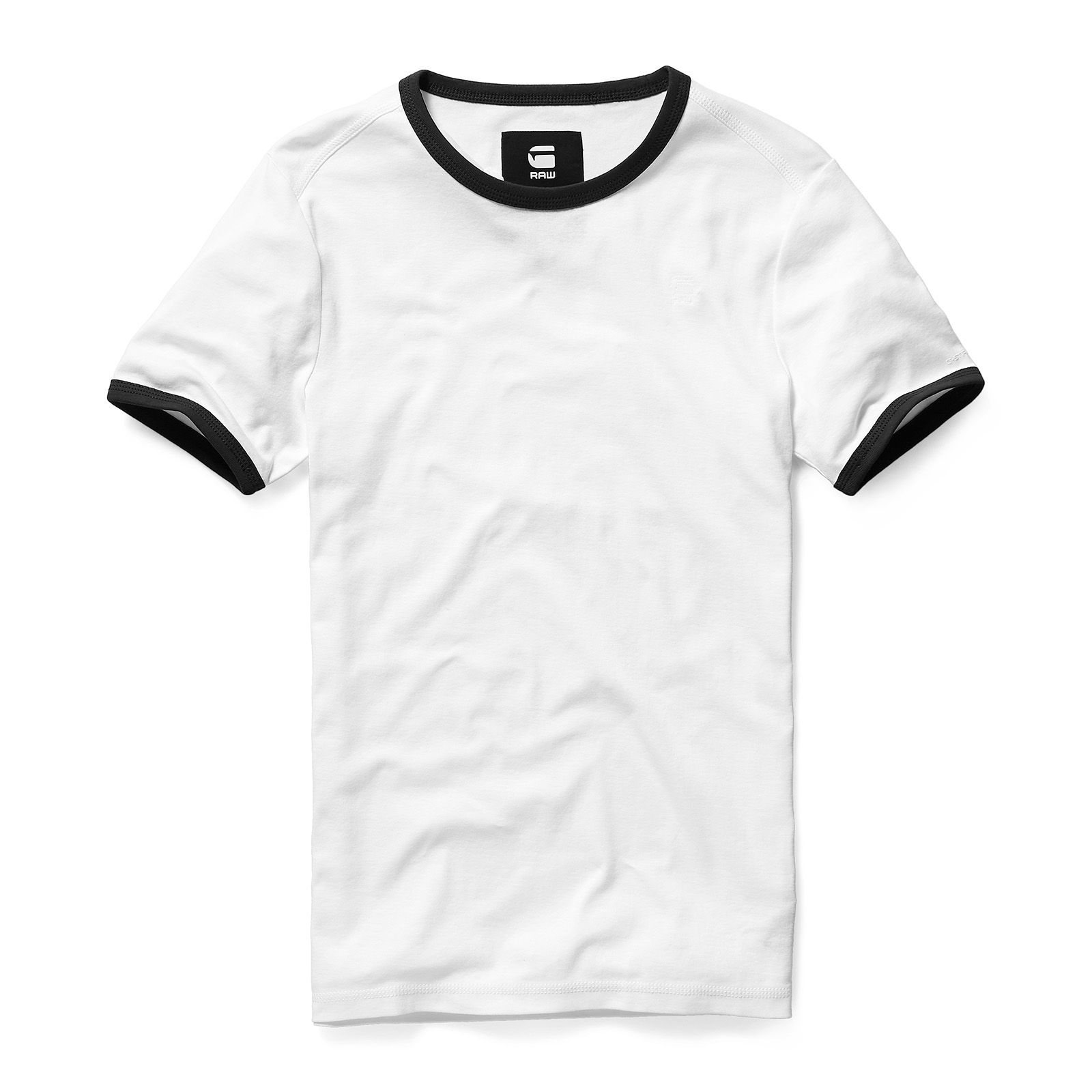 Ramic Contrast Short Sleeve Tshirt Pakaian pria