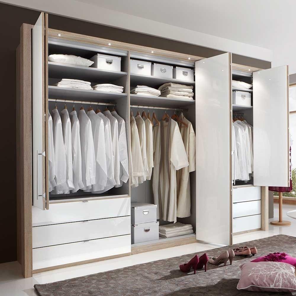 Schlafzimmer Kleiderschrank Bosays Mit Faltturen Wohnen De