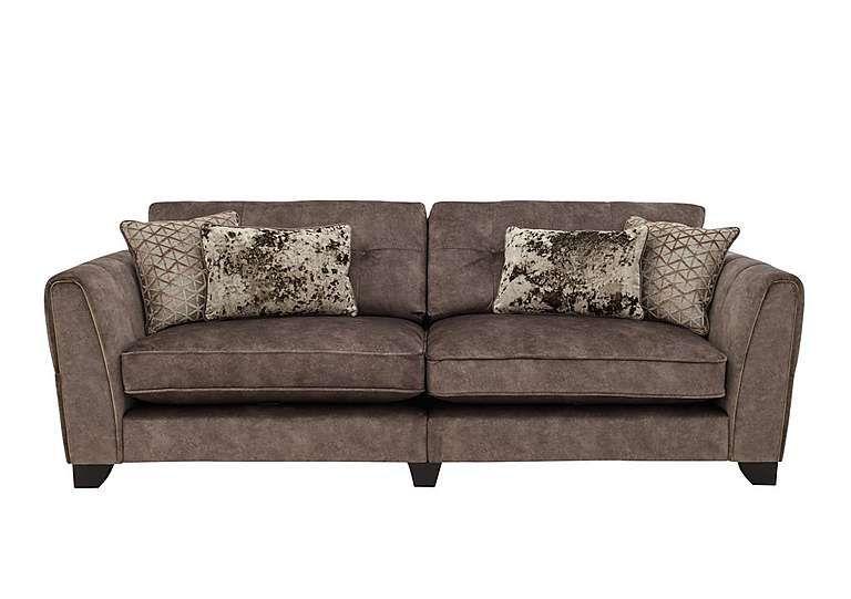 Ariana 3 Seater Classic Back Fabric Sofa Furniture Village Fabric Sofa Furniture Village Furniture