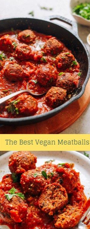 The Best Vegan Meatballs Genius Kitchen Food Food