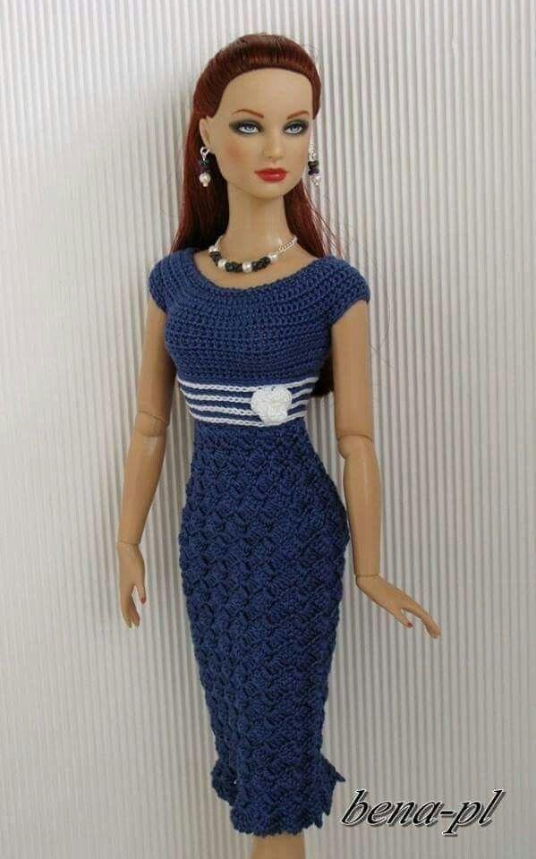 Modelo especial | barbies | Pinterest | Barbiekleidung, Barbie und ...
