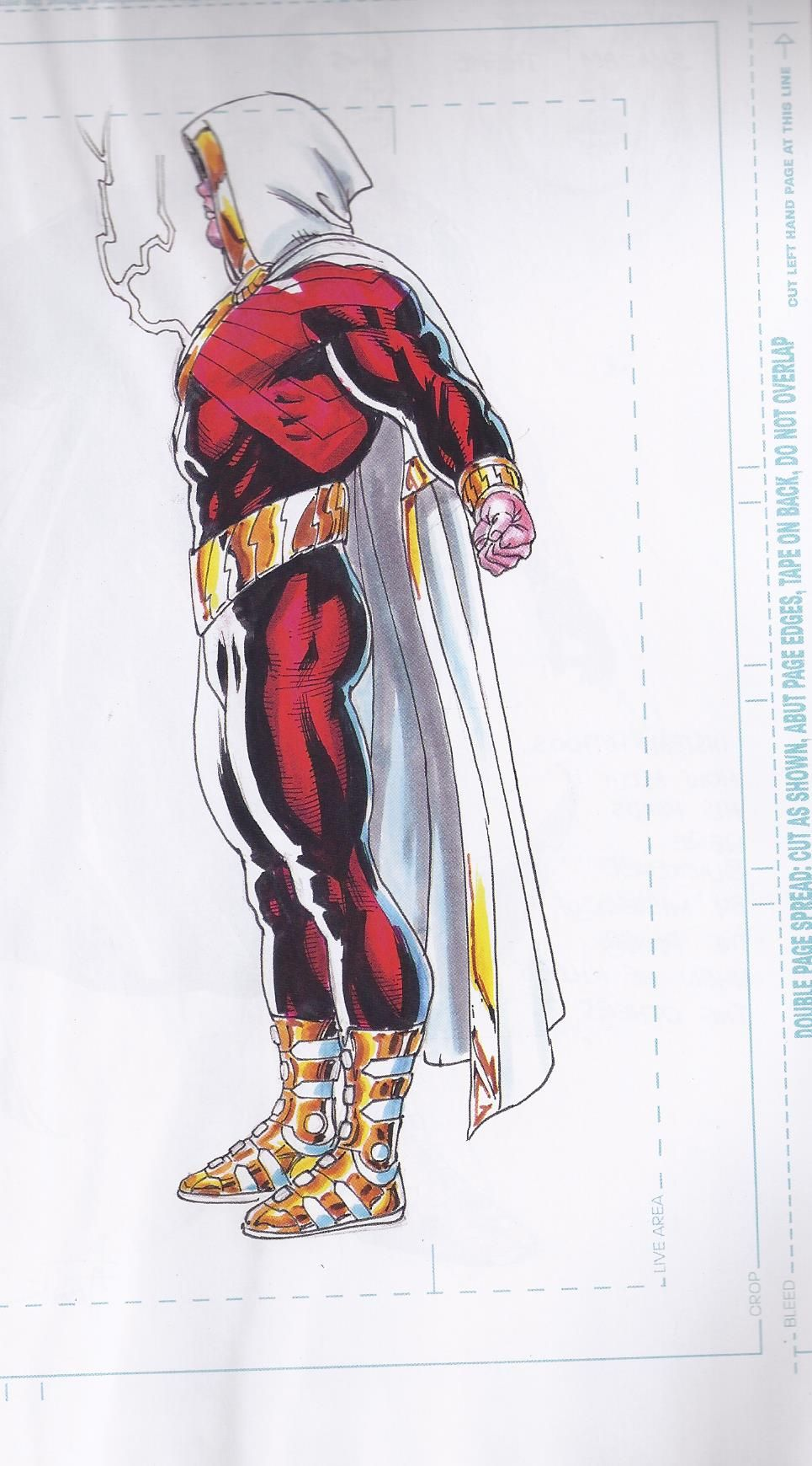 Shazam DC New 52 Gary Frank Character Designs art 3 | Comic Images ...