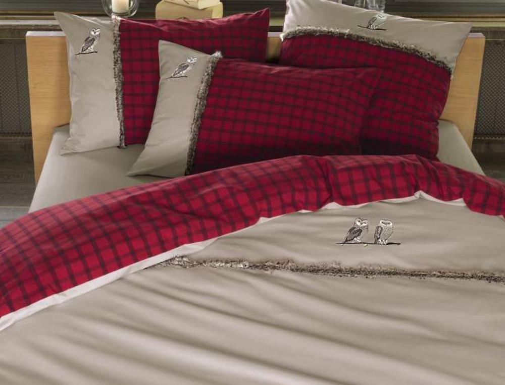 linge de lit lin des vosges Songe de nuit   Linge de lit fantaisie Linvosges | Linvosges  linge de lit lin des vosges