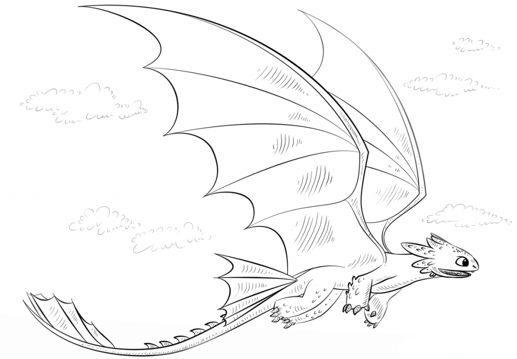 Toothless Coloring Pages Best Coloring Pages For Kids Dragon Coloring Page How Train Your Dragon Toothless Drawing