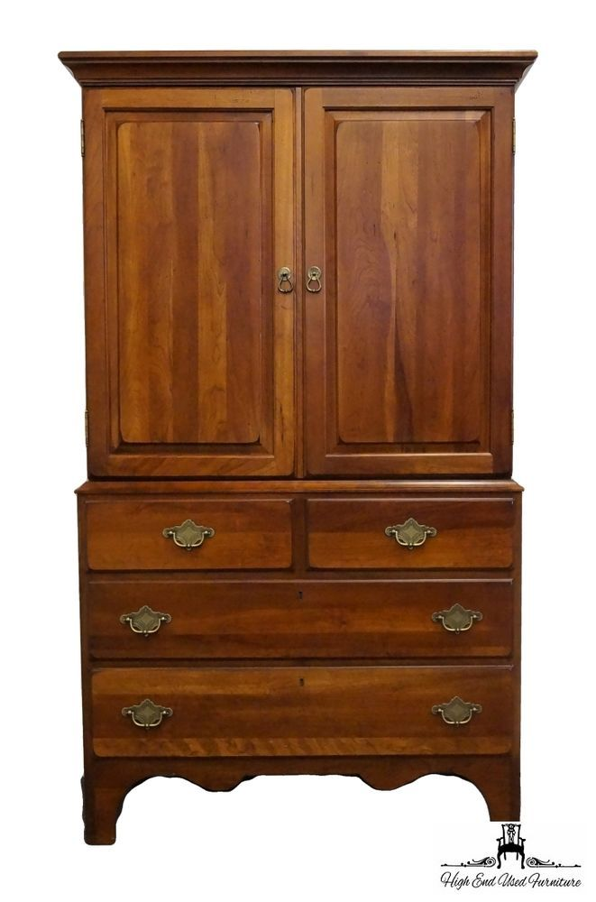 Kincaid Furniture Ducks Unlimited Currituck Cherry 40 Clothing Armoire 24 165 Kincaid