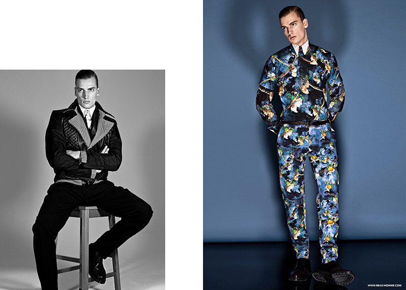 Beau Homme Fall/Winter 2014 Campaign