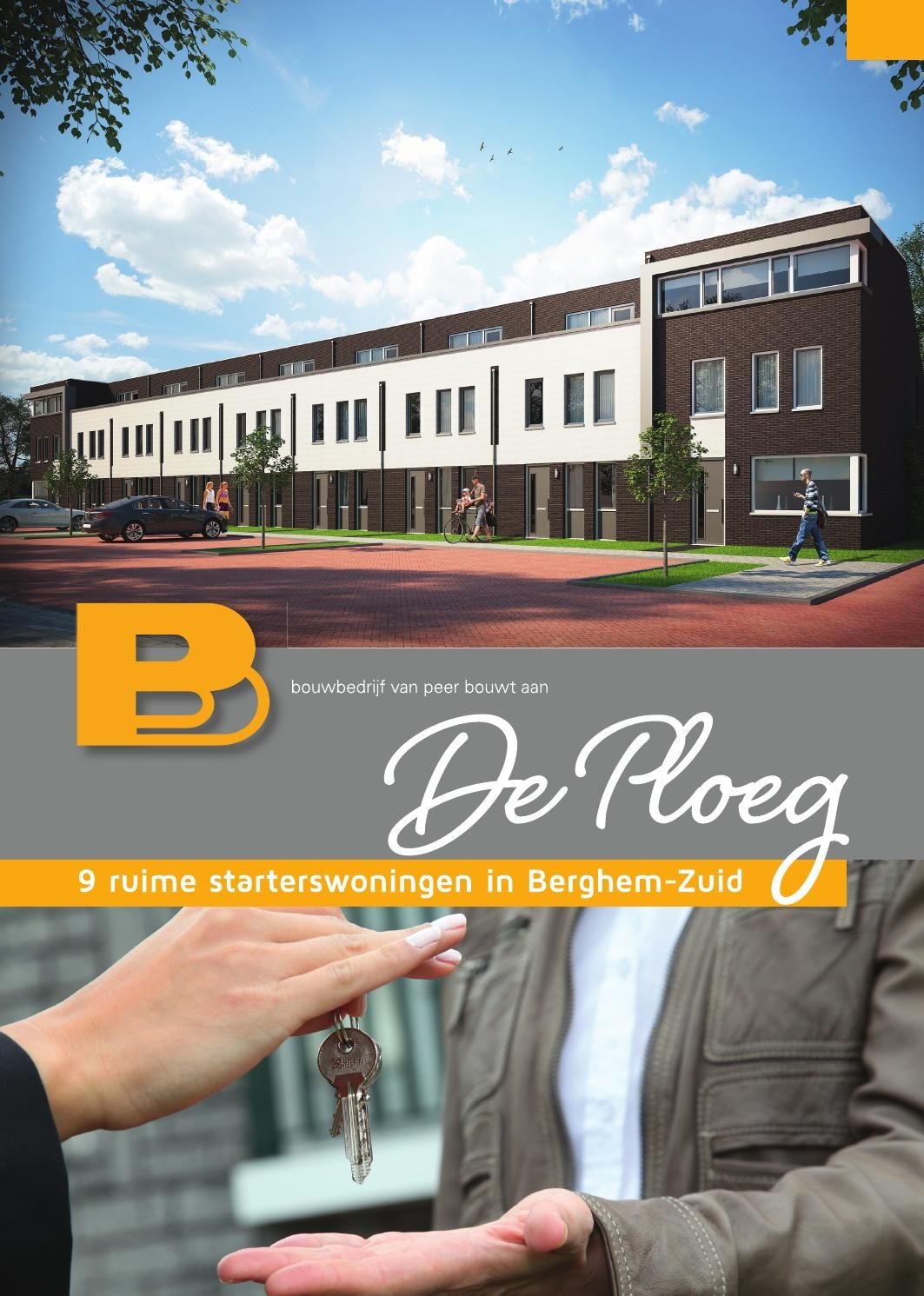 Brochure Woningen De Ploeg Berghem Company Logo Brochure Tech Company Logos