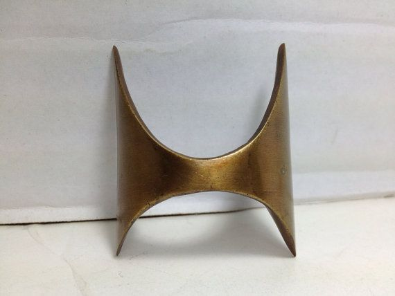 2 Broyhill Brasilia Replacement Pulls   Mid Century Modern Kitchen Cabinet  Knobs Handles Handle