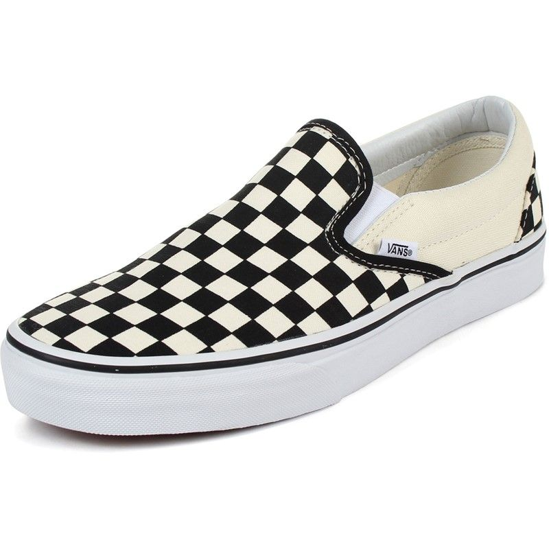 black checkered vans mens