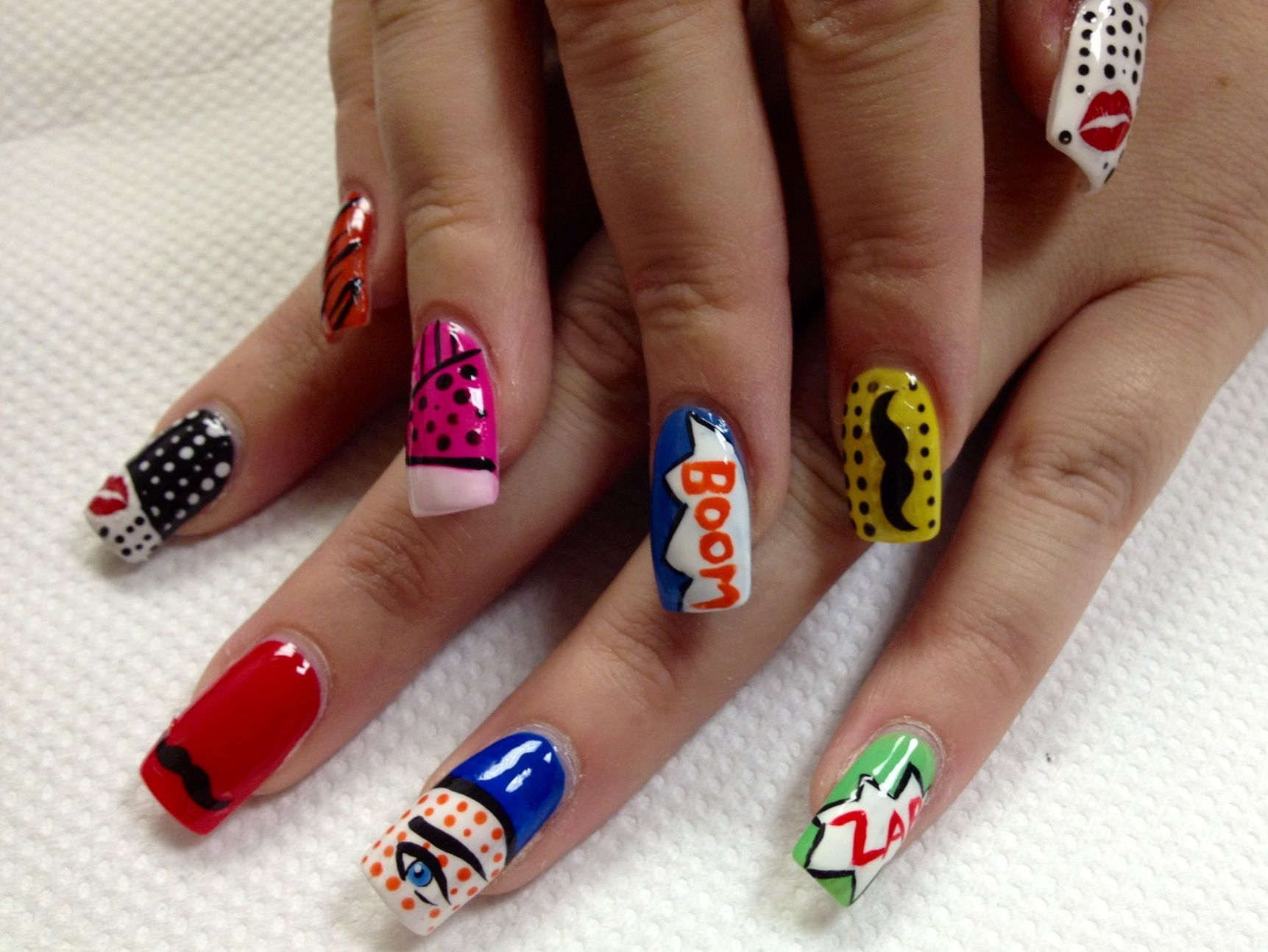 fancy some nail art? try these 15 new nail art techniques and